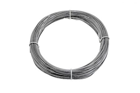 50m RPVC3RG PVC 3mm Round Grey
